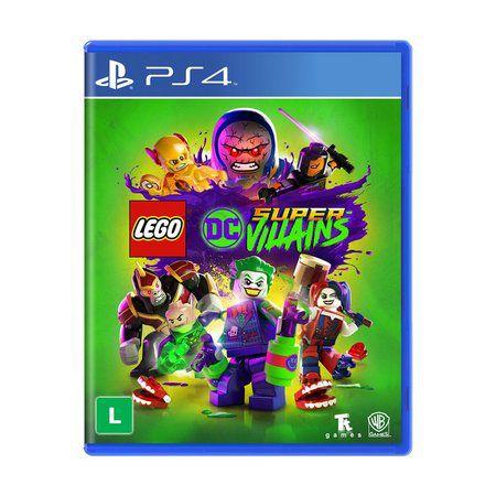 Jogo LEGO DC Super-Villains - PS4