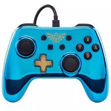 Controle Switch Zelda Powera - Azul