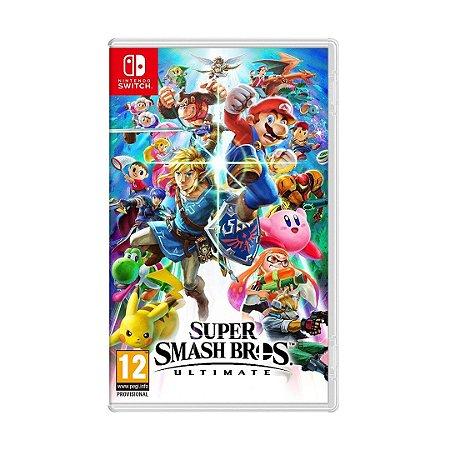 Jogo Super Smash Bros. Ultimate - Switch