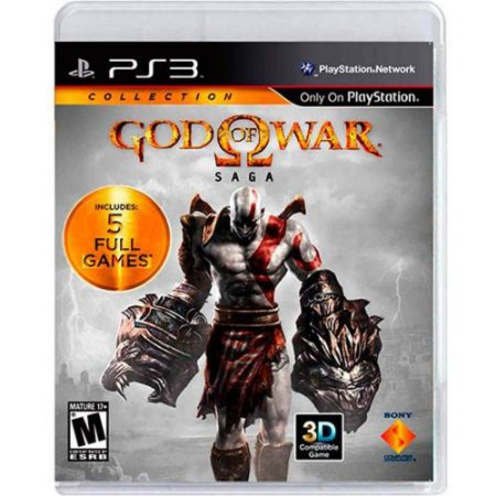 Jogo God of War: Saga - PS3