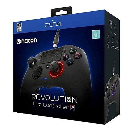 Controle Nacon Revolution PRO V2  (Preto) - PS4