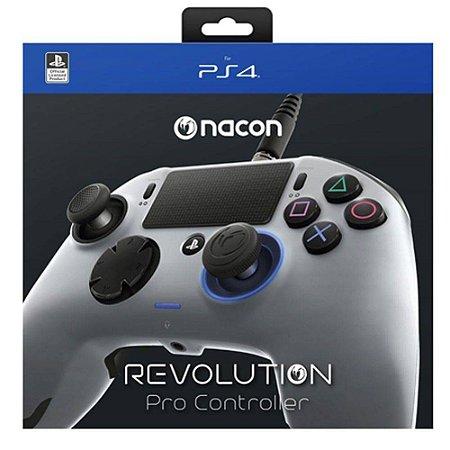 Controle Nacon Revolution PRO  (Cinza) - PS4