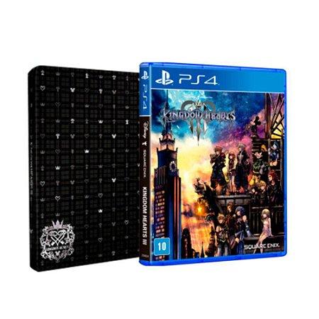 Jogo Kingdom Hearts III (Brinde Steelbook) - PS4