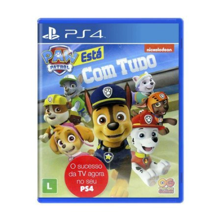 Jogo A Patrulha Canina: Está com Tudo - PS4