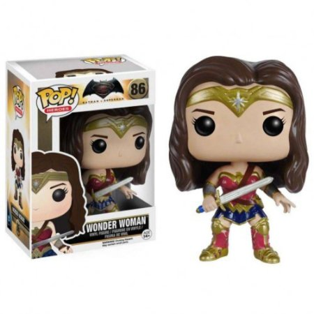 Boneco Funko Pop Wonder Woman