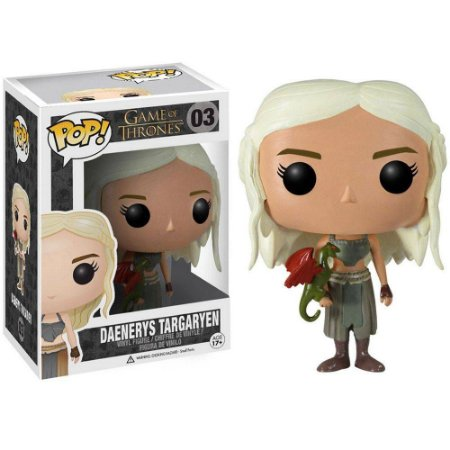 Boneco Funko - Game of Thrones Daenerys Targaryen