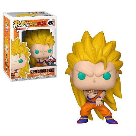 Boneco Funko - Dragon Ball Super Saiyan 3 Goku