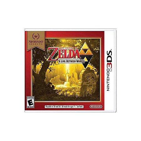 Jogo The Legend Of Zelda: A Link Between Worlds - 3DS