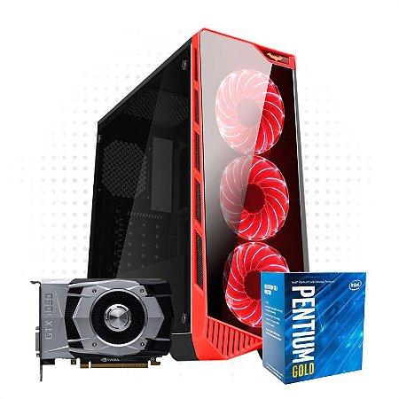 PC Gamer Hight One - GTX 1050 2GB DDR 5 - Pentium G5400 - 8 GB DDR 4