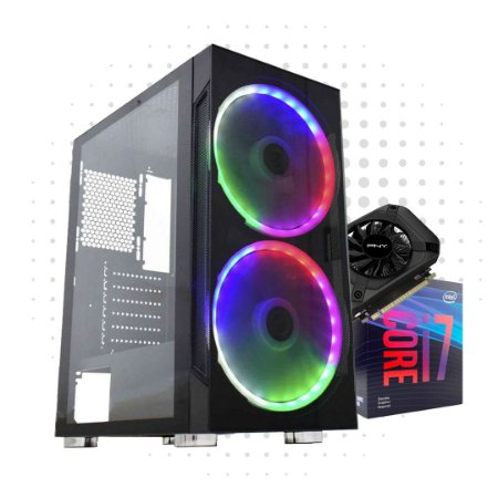 PC Gamer Power 3 - RTX 2060 6GB GDDR 6  - I7  9700KF - 16 GB DDR 4 - HD 1TB - SSD 240GB