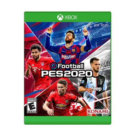 Jogo eFootball Pro Evolution Soccer 2020 - Xbox One