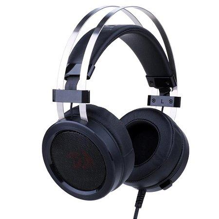 Headset Gamer Redragon Scylla H901 Preto - PC, PS4