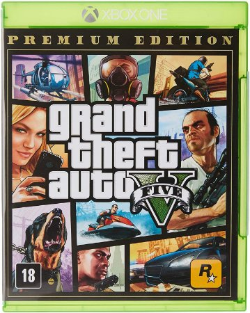 Jogo Grand Theft Auto V (GTA 5) - Xbox One