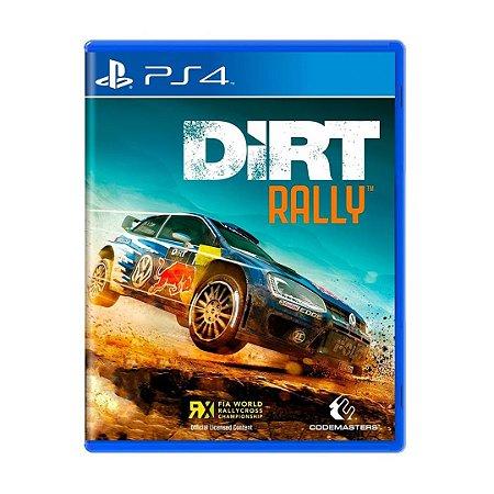 Jogo DiRT Rally - PS4