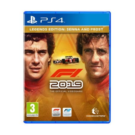 Jogo F1 2019 (Legends Edition Senna & Prost) - PS4