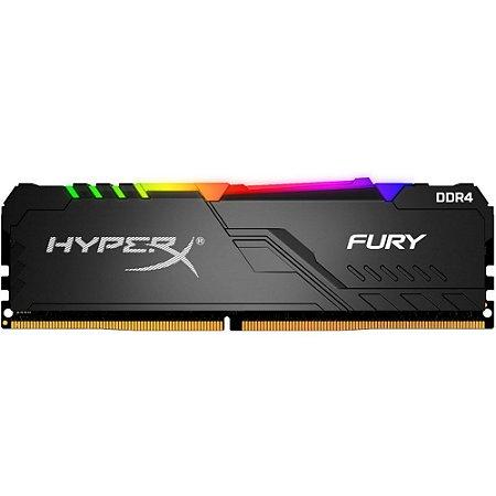 Memória Hyperx Fury Rgb 8gb DDR4 - 2666 - Mhz
