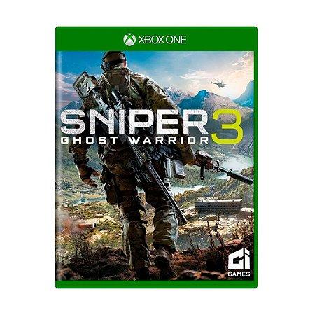Jogo Sniper Ghost Warrior 3 - Xbox One