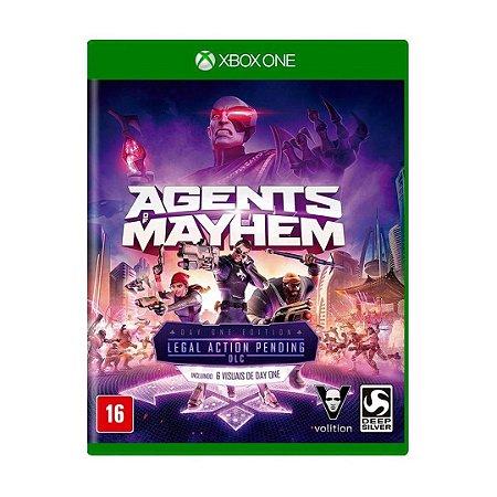 Jogo Agents Mayhem - Xbox One