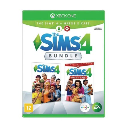 Jogo The Sims 4 (Bundle) - Xbox One