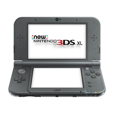 Console New 3DS XL New Black - Nintendo