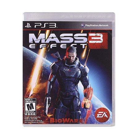 Jogo Mass Effect 3 - PS3