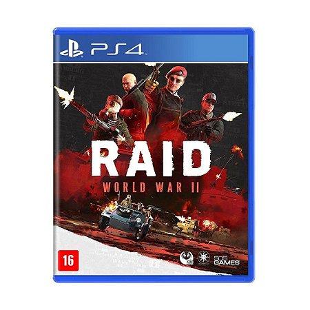 Jogo Raid: World War II - PS4