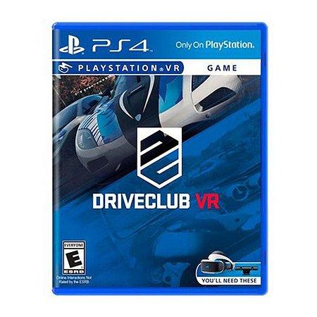 Jogo Driveclub VR - PS4