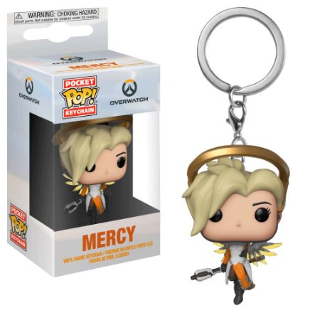 Chaveiro Pocket Pop - Mercy - Overwatch