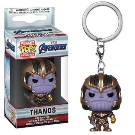 Chaveiro Pocket Pop - Thanos - Marvel