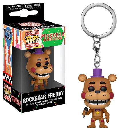 Chaveiro Pocket Pop - Rockstar Freddy - Rockstar Freddy