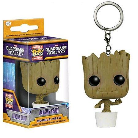 Chaveiro Pocket Pop - Dancing Groot - Marvel