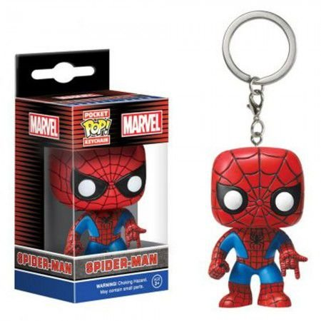 Chaveiro Pocket Pop -Spider Man - Marvel