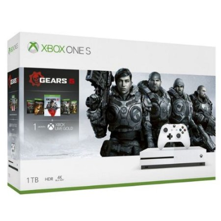 Console Xbox One S 1TB (Pacote Gears 5) - Microsoft