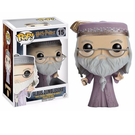 Boneco Funko #15 Albus Dumbledore - Harry Potter