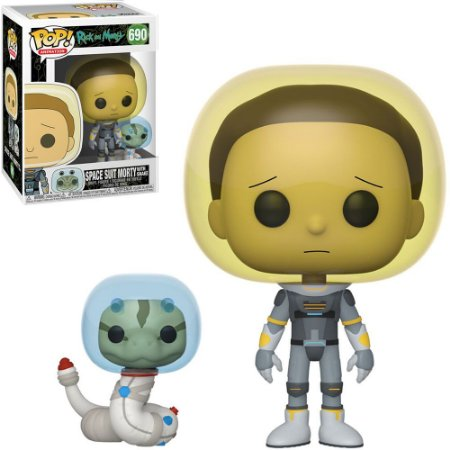 Boneco Funko Rick And Morty #690 - Space Suit Morty