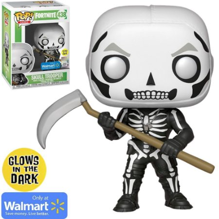 Boneco Funko Fortnite #438 - Skull Trooper
