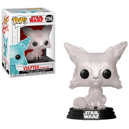 Boneco Funko Pop Star Wars #256 - Vulptex (Crystal Fox)