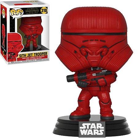 Boneco Funko Star Wars #318 - Sith Jet Trooper
