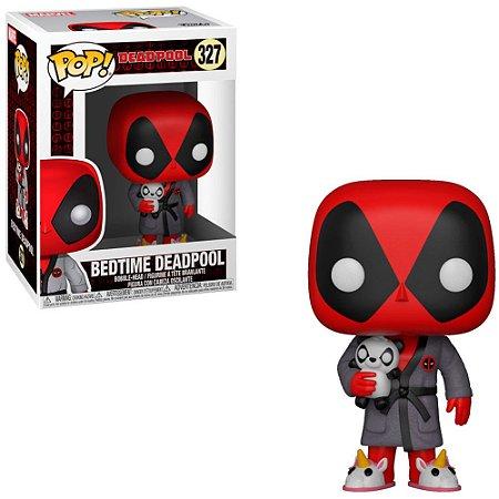 Boneco Funko Deadpool #327 - Bedtime Deadpool
