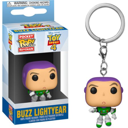 Chaveiro Pocket Pop - Buzz Lightyears- Toy Story