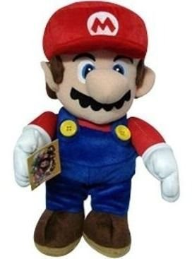 Pelúcia Turma Mario Bros Mario (30cm)