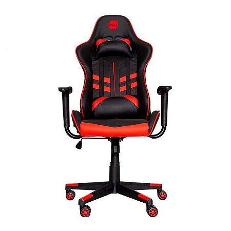 Cadeira Gamer Dazz Prime X - 2D - Preto e Vermelho