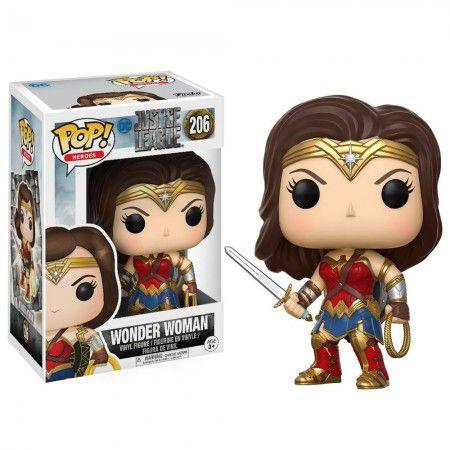 Boneco Funko Justice League #206 - Wonder Woman