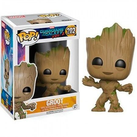 Boneco Funko Guardians of the Galaxy #202 - Groot