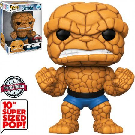 Boneco Funko Fantastic Four #570 - The Thing