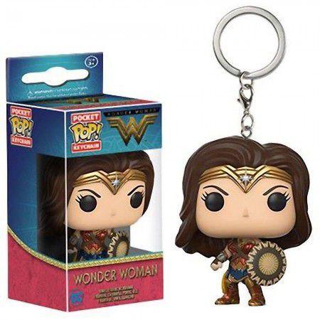Chaveiro Pocket Pop - Wonder Woman - Wonder Woman