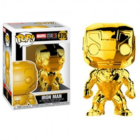 Boneco Funko Marvel Studios #375 - Iron Man