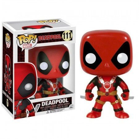Boneco Funko Pop Deadpool #111 - Deadpool
