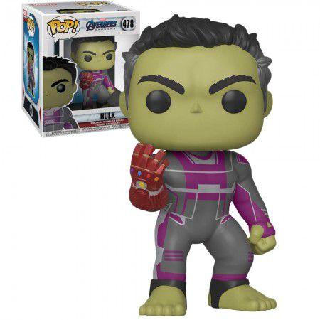 Boneco Funko Pop Avengers: Endgame #478 - Hulk