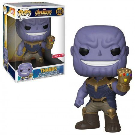 Boneco Funko Pop Avengers: Infinity War #308 - Thanos